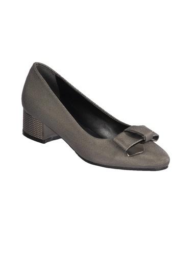 Maje 2632 Platin-Sıvama Kadın Topuklu Ayakkabı Gümüş